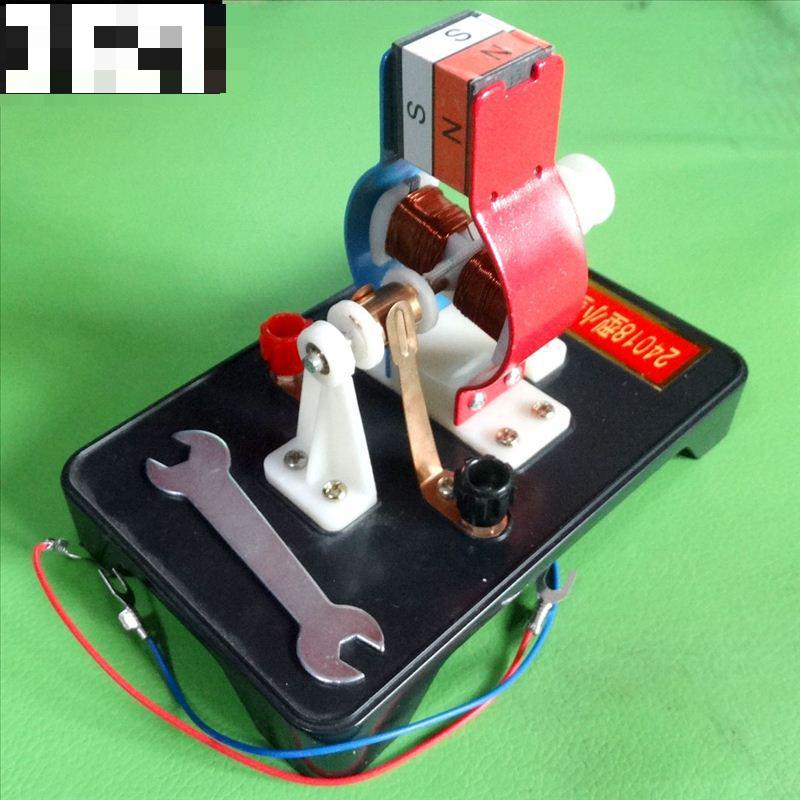 Small Motor Model / Detachable Assembly Physics Experiment Equipment Electrical Teaching Instrument все цены