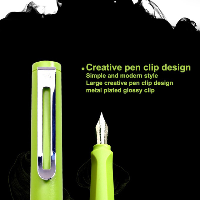 Jinhao 599a Matte Fountain Pen Business Office Luxury Ink Pen Gift Pens 4 Kinds Of Nib Ink New 10pcs Can Be Engraved LOGO 2