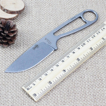 High quality IZULA hunting knife Ant fixed blade knife tactical camping knife Rowen D2 blade ESEE straight knife survival tools