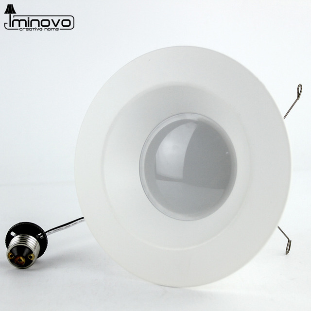 Iminovo Retrofit Downlight Can Led Recessed Light Bulb E26 Dimmable Fixture 4 Inch 6 8w