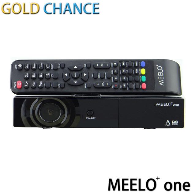 MEELO + un Receptor de Satélite 750 DMIPS Procesador Linux Sistema Operativo x solo mini 2 Soporte YouTube Cccam DVB-S2 STB