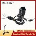 Вольтметр ключ напряжение дисплей Кнопка питания для электрического скутера Speedual Zero 8X 10X мини T10-ddm ЖК дисплей Macury светодиодный запчасти
