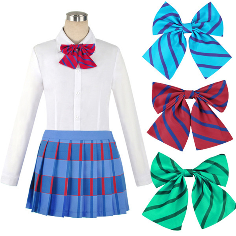 Love Live Fancy Dress JK School Uniform Cosplay Costume Tops Tie Women Anime