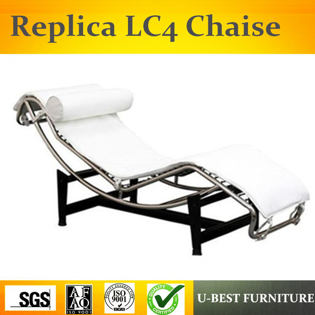 U BEST Le Corbusier Furniture Replica Corbusier LC4 Chaise Lounge Chair,Modern  Living Room