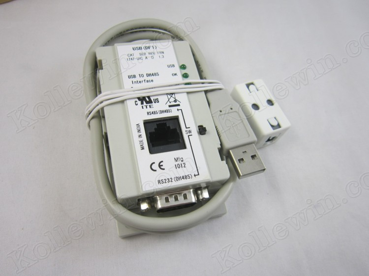 Upgrade 1747-UIC, USB interface adapter for A-B SLC5/01/02/03/05 series PLC cable, Freeshipping 1747UIC2.0 Communication Cable 1747 pic a b slc5 series plc programming cable with communications interface rs232 dh 485 interface 3m free shipping