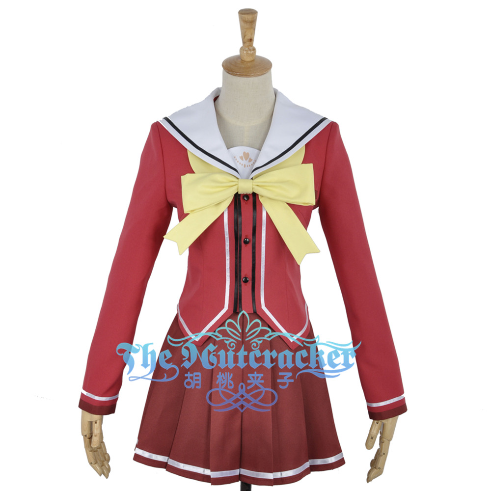 Charlotte Nao Tomori Cosplay Costume Custom Made Costumes & Accessories Anime Costumes