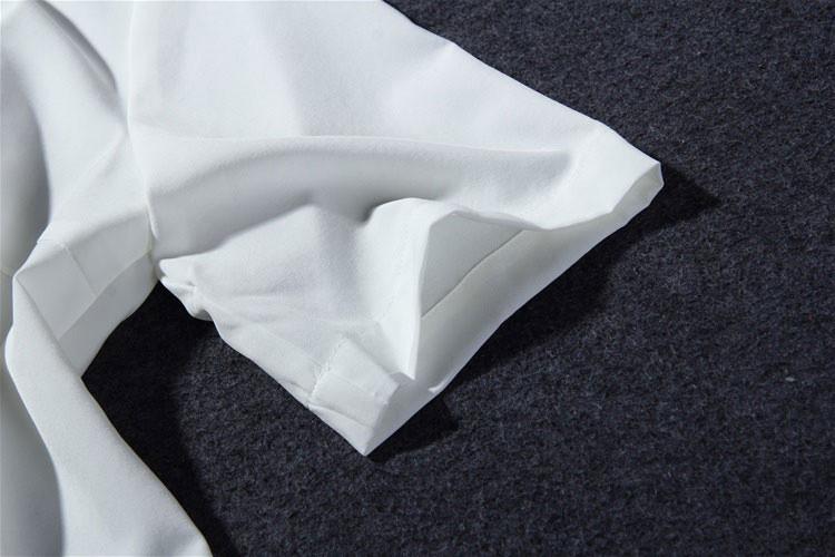 Flower Print Green Skirt White Blouse Suits for Women (9)
