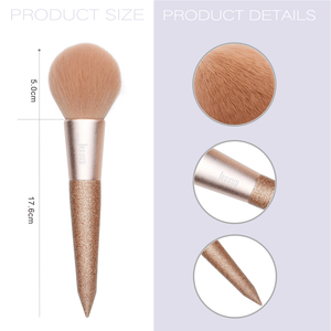 Image 5 - Jessup 8 pcs Professional foundation brush Powder Blusher Contour Pencil Eyeshadow Make up brushes Synthetic hair Cosmetic