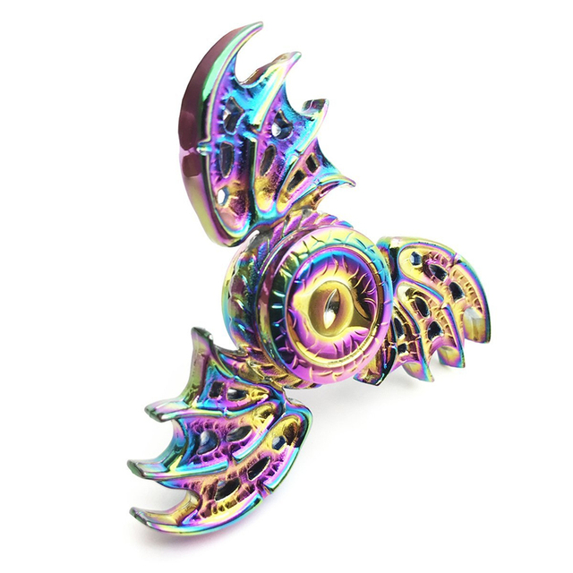 New Rainbow Game of Thrones Dragon Eye Spinner Toy