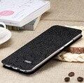 Luxo virar magro capa para meizu m3 note case pu couro stand titular shell para casos de telefone meizu m3 note