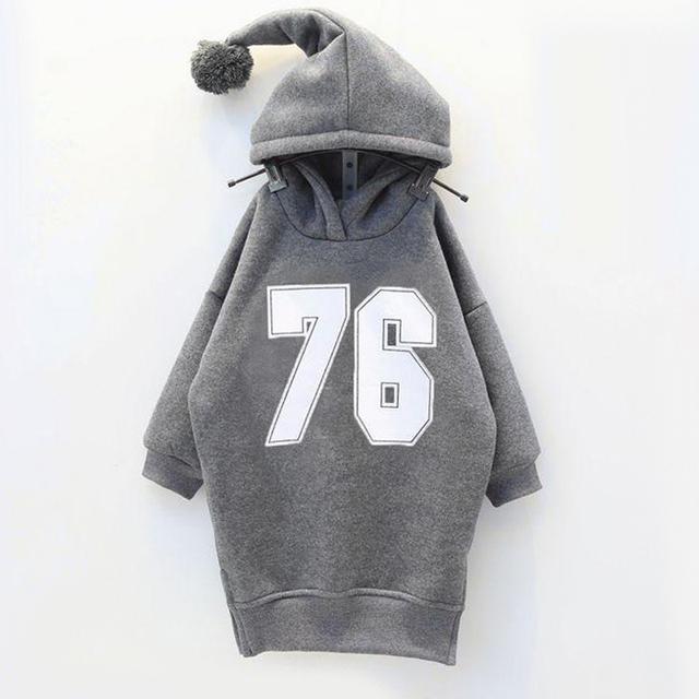 Establece el nuevo 2016 la edición de han qiu dong niñas de lana añadir cálida lana de abrigo
