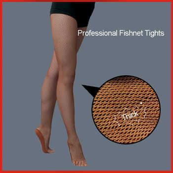 Women's Professional Fishnet Tights For Ballroom Latin Dance - DISCOUNT ITEM  15% OFF All Category