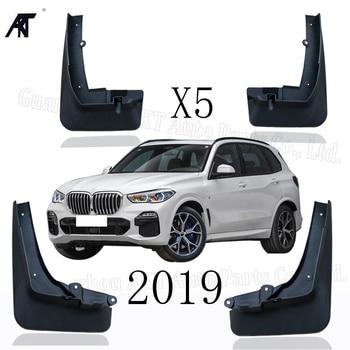 Car Mud Flaps For BMW X5 G05 2019 Mudflaps Splash Guards Mud Flap Mudguards Fender Front Rear Styling Set Molded