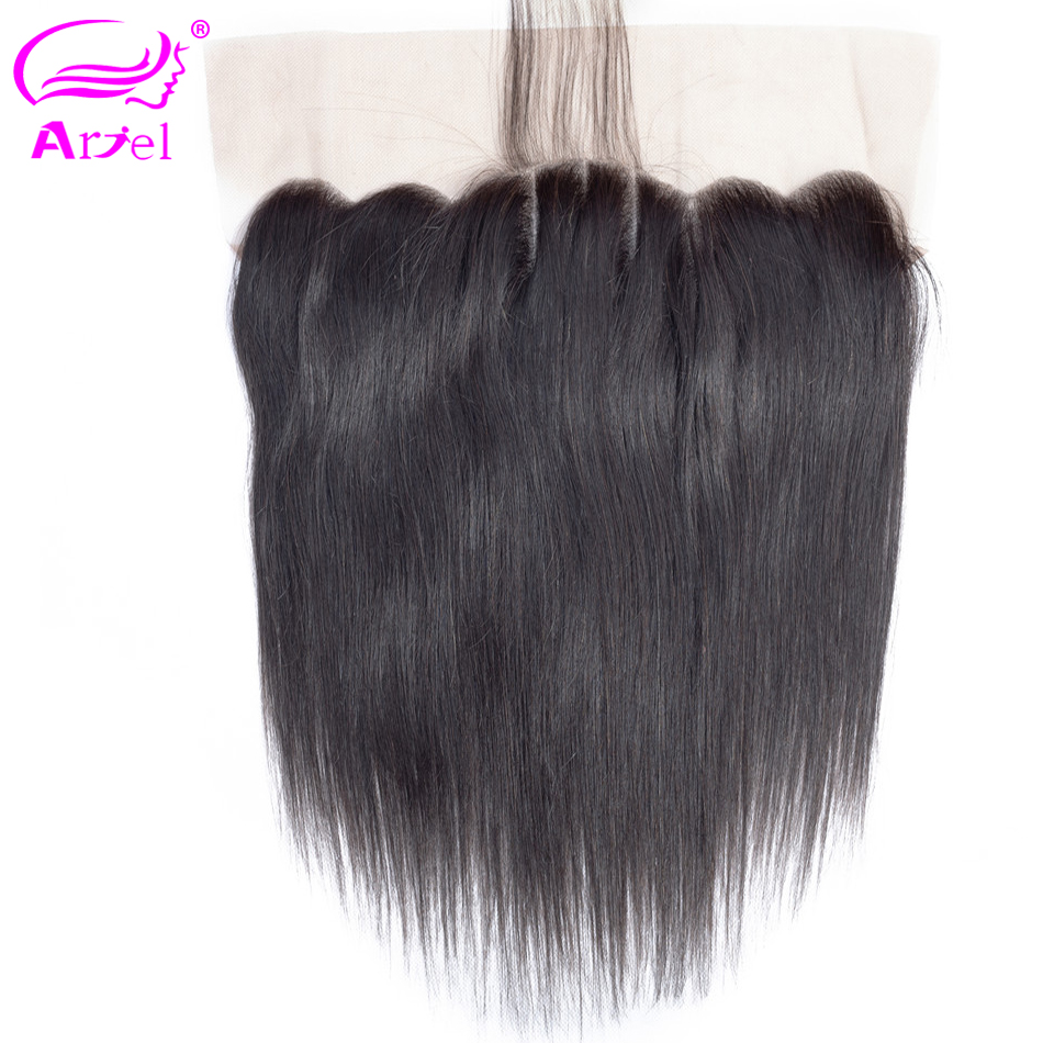 Ariel Indian Straight 13*4 Lace Frontal Closure With Baby Hair 100% Human Hair
