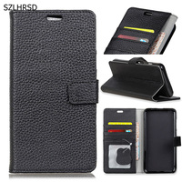 2018 New Luxury Genuine Leather Flip Wallet Case For Samsung Galaxy S9 Plus S9 Cover Phones
