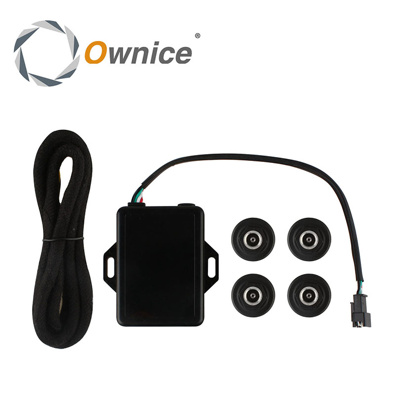 Only for ownice display Special Car Tire Pressure System the tempreature and pressure with high degree accuracy the host 8 copy floor display with special riser