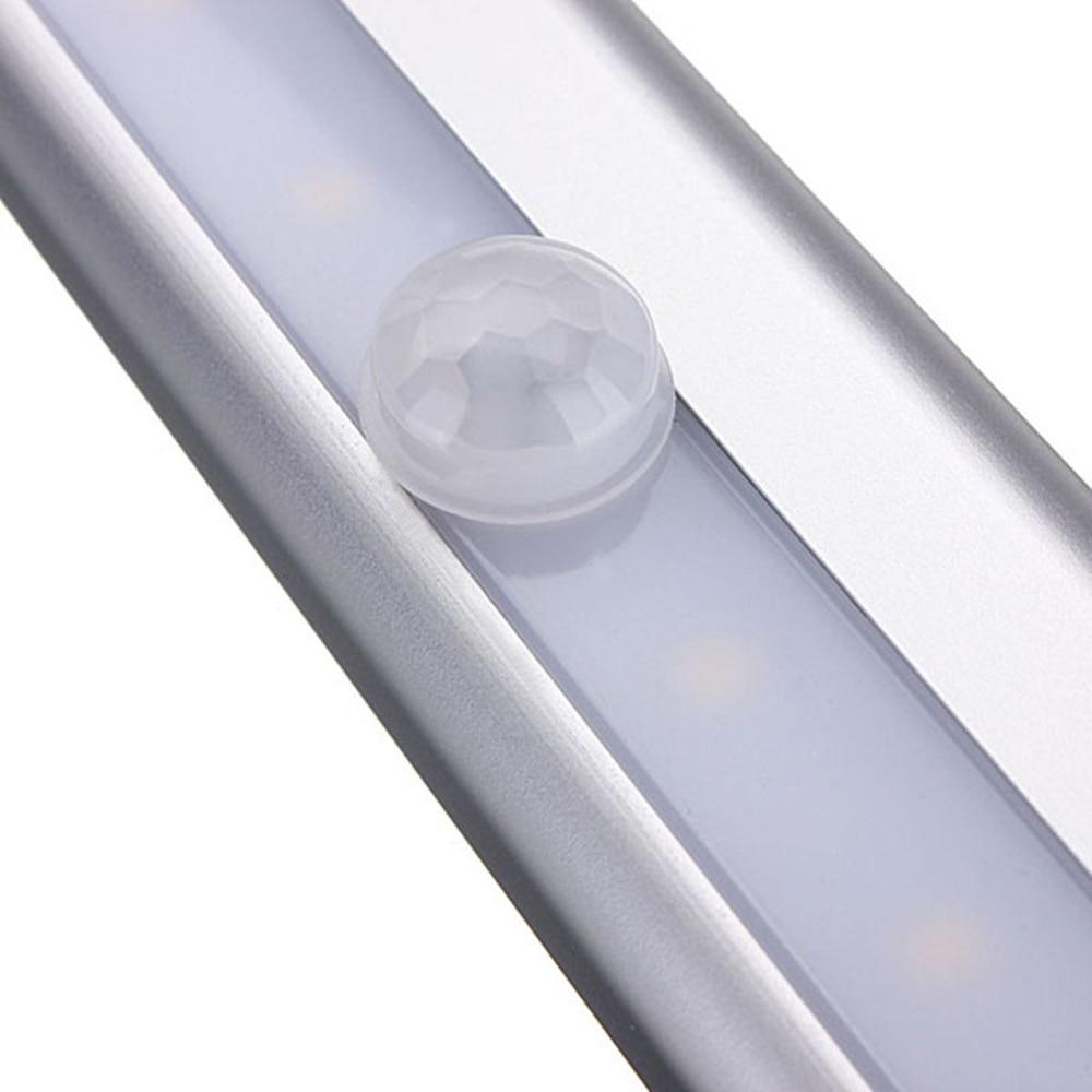 GO OCEAN Under Cabinet Lights Night Light Toliet Motion Sensor Magnetic Strip LED Closet Lights Cabinet Light Battery Night Lamp (16)