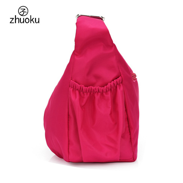 Women Crossbody Hobos Bag Ladies Nylon Handbag Travel Casual Bag Leisure Fashion Bags Bolsos Mujer Brand Bag Purse L200