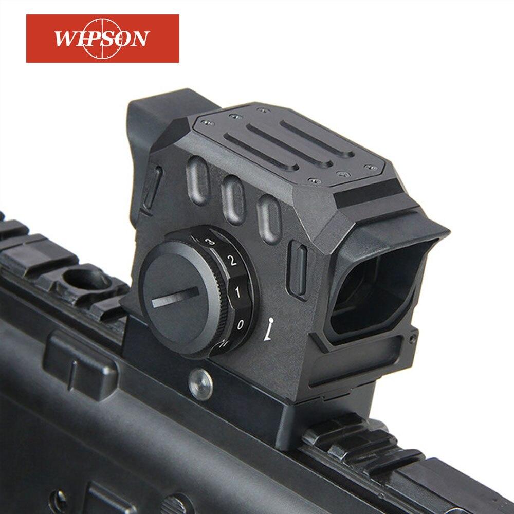 Wipson eg1 red dot scope 1.5 moa reflexo vista holográfica óptica com 20mm montagem em trilho para caça airsoft tiro