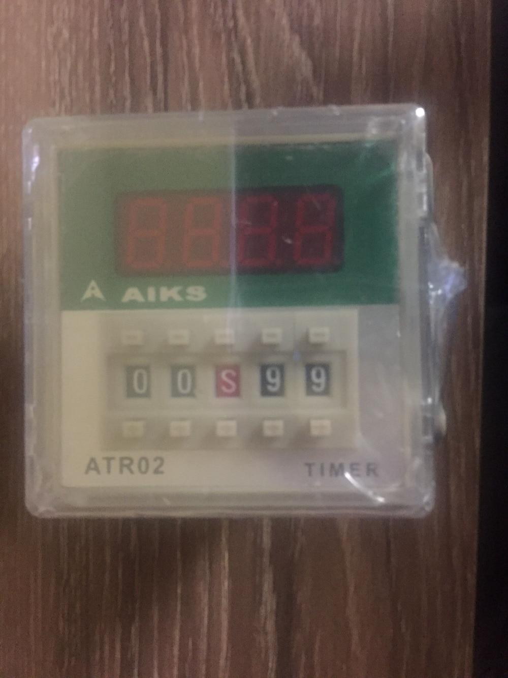 все цены на  AIKS AUX time relay ATR02-B2 AC220V perfect alternative DH48S  онлайн
