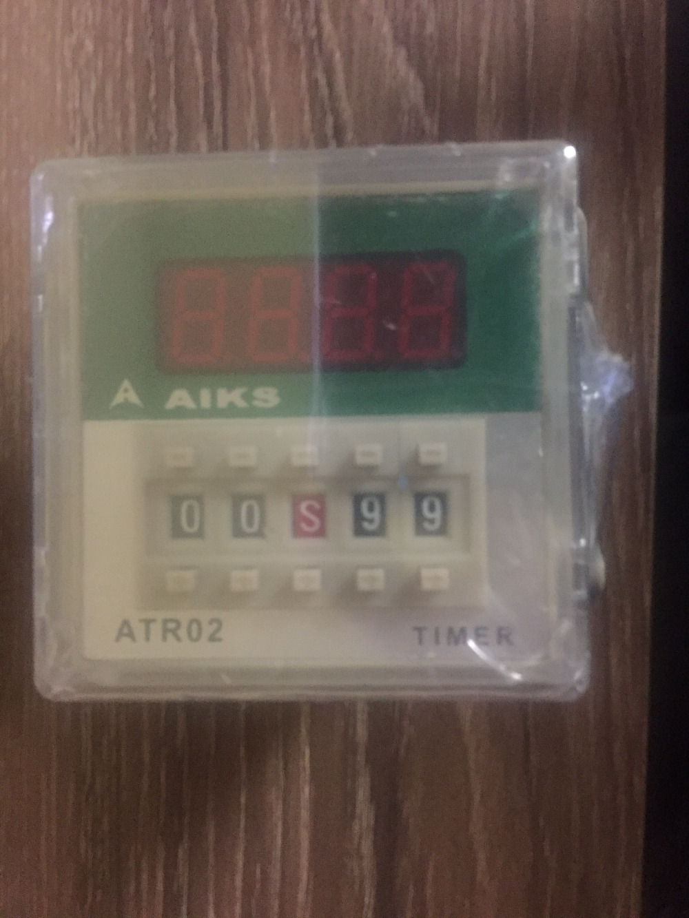 AIKS AUX time relay ATR02-B2 AC220V perfect alternative DH48S genuine taiwan research anv time relay ah2 yb ac220v