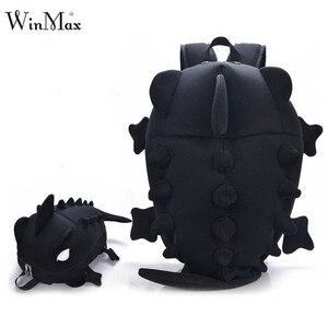 Image 2 - Kids Creative Women Men Travel Backpack 3D Fashion Dinosaur Primary Cartoon School Bags for Teenage Boy and Girls Book Schoolbag