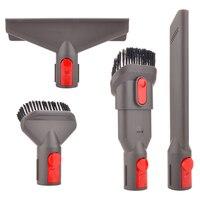 Brush Attachment Hose Brush Mount Holder Kit For Dyson V8 V7 V10 Absolute Vacuum Cleaner 5in1 /4in1/ 3in1 Brushes Spare Part
