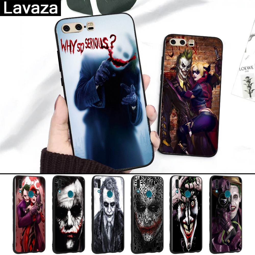 Lavaza Joker Batman The Killing Joke Silicone Case for Huawei P8 Lite 2015 2017 P9 2016 Mini P10 P20 Pro P Smart 2019 image