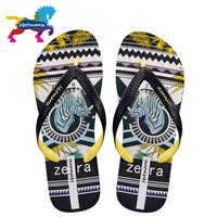 Hotmarzz Men Sandals Women Unisex Slippers Zebra Pattern Summer Beach Flip Flops Designer Fashion Comfortable Pool Travel Slides