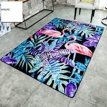 WINLIFE Фламинго ковер модный Европейский стиль Коврики для гостиной