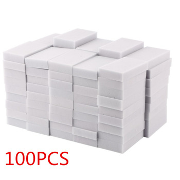 Buena calidad 100 Uds esponja limpiadora 100x60x20mm esponja limpiadora mágica súper descontaminación borrador-50