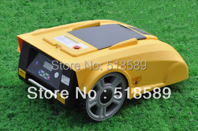 Remote Robot Lawn Mower LF008 Newest Funciton with Compass+lead-acid battery+Remote Controller+100m wire and 100pcs pegs