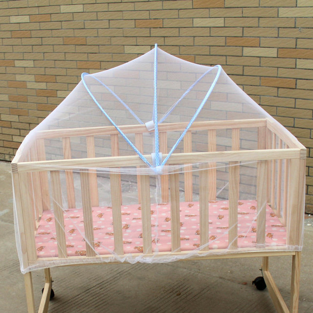 Baby Crib Mosquito Net Mesh Tent Folding Bed For Babies Cot