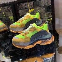 Новинка 2019 года balenciaca обувь для мужчин летние кроссовки для бега обувь с дышащей сеткой суперлегкие кроссовки для женщин мужчин Спортивная
