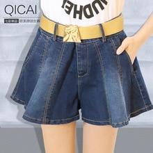 2015 летний новый женский рог джинсовые шорты мода талия омывается джинсы осень одного поколения брюки