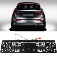 Waterproof Car License Plate Frame High Definition Rear View Camera LED Light Night Vision Rearview Cam