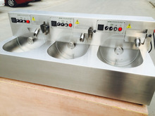 110v.60hz  220v.50hz Europe plug chocolate melting machine with 24 kg/batch capacity