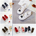 Kids Shoes Cartoon Korean Canvas for Baby Girl and Toddler Flats Baby Boy Colorful Student Dancing Soft Shoes for Children