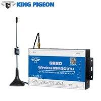 S280 Беспроводной сбора данных Системы GSM сигнализации GPRS пульт дистанционного управления RTU RS485/232/RJ45 протокол TCP/IP Температура