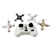Smallest mini drone CX10A CX-10A 4cm 2.4GHz 4CH 6-axis gyro remote control rc Quadrocopter with headless mode LED light kid gift