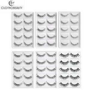 CLOTHOBEAUTY 5 Pairs False Eye