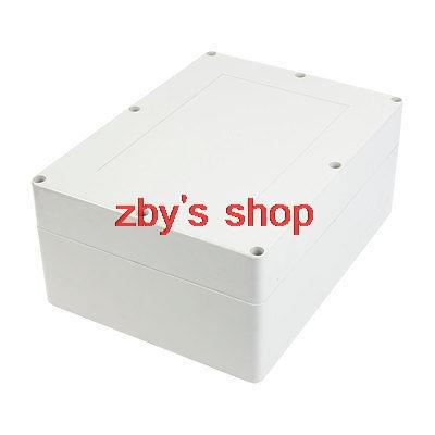 320mmx240mmx140mm Waterproof Plastic Enclosure Case Power Junction Box 1 piece free shipping plastic enclosure for wall mount amplifier case waterproof plastic junction box 110 65 28mm