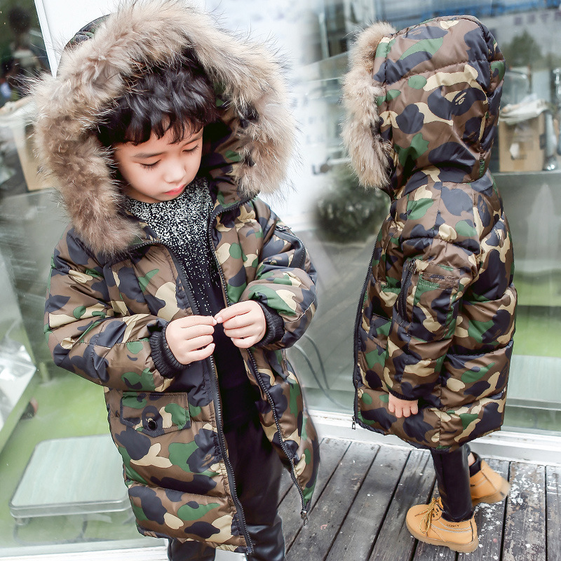 2017 new casual child cotton coats boy winter clothes jacket children camouflage cotton children's clothing 2 3 4 5 6 7 year old  free shipping winter new children s wear patch splicing shoulder button boy cotton padded clothes child quilted jacket
