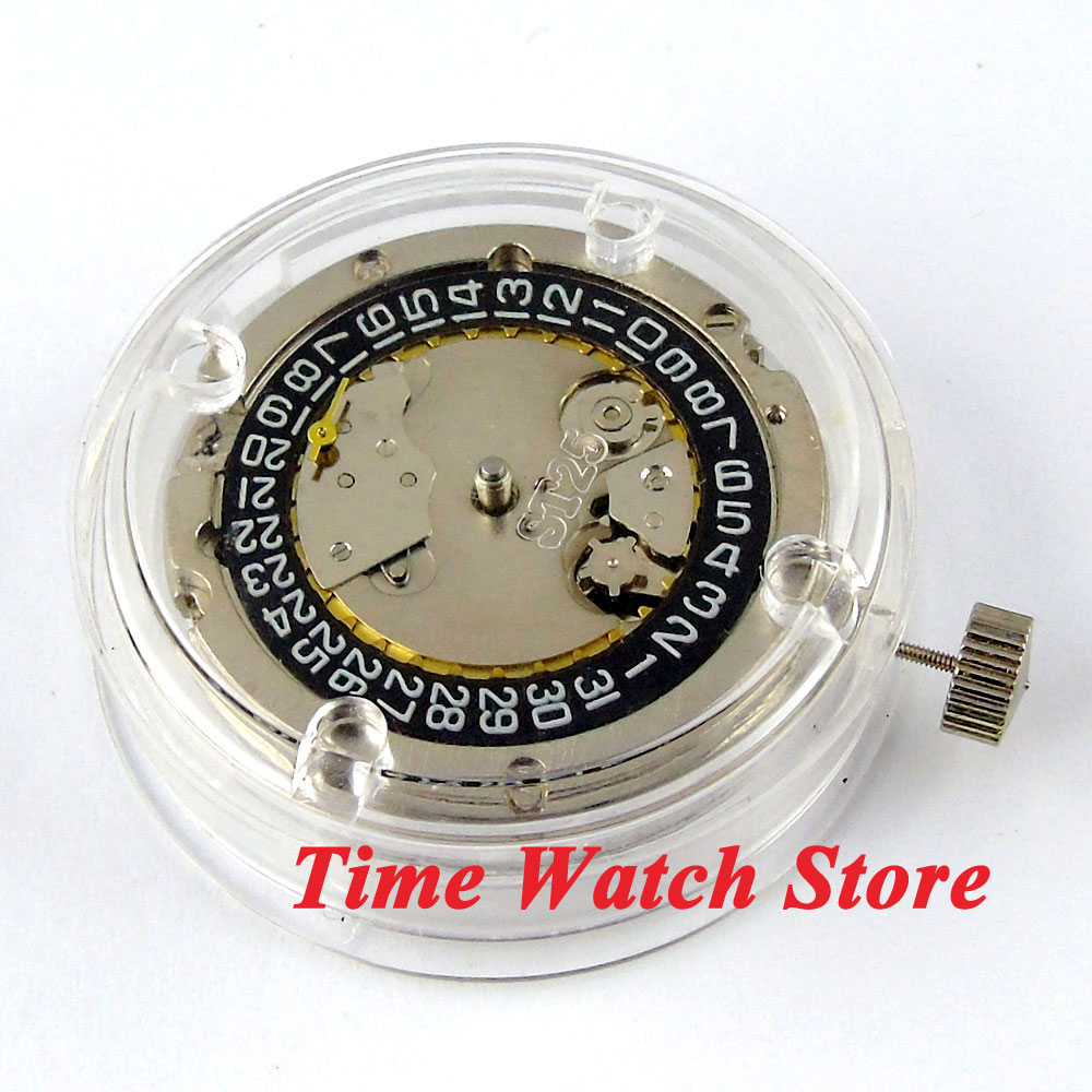 ST2555 classic small second date mechanical automatic watch movement M7