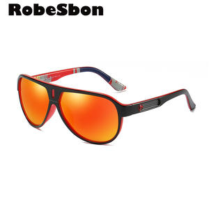 1fa855cc90 ROBESBON Polarized Sunglasses Men Vintage
