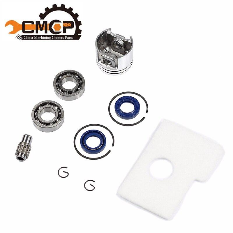 38mm Motor Piston Kit Crankshaft Bearing Oil Seals Kit Fit