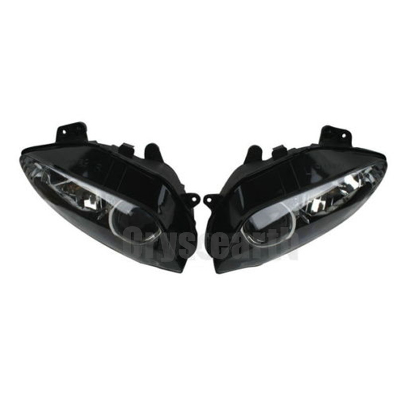 Motorcycle Front Light Headlight Headlamp Lighting Assembly Housing Kit For Yamaha YZFR1 YZF1000 YZF R1 YZF-R1 2004 2005 2006
