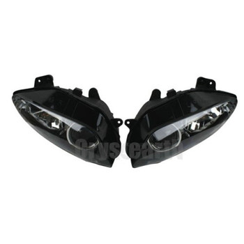 Motorcycle Headlight Head Light Lamp Headlamp Assembly Housing Kit For Yamaha YZFR1 YZF1000 YZF R1 YZF-R1 2004 2005 2006 04-06