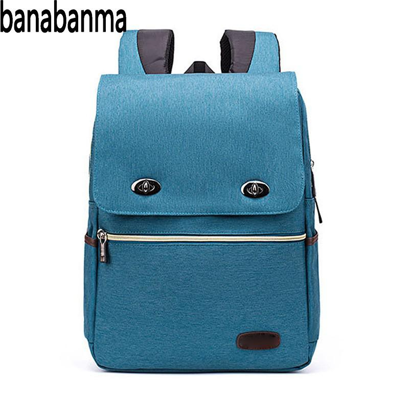 Banabanma Unisex Backpack Fashionable Stylish Waterproof Large Capacity Student Casual S ...