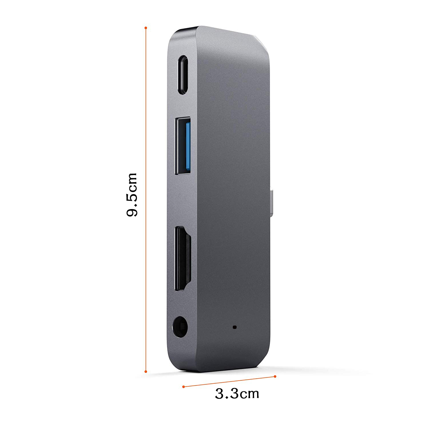 Image 4 - For 2018 iPad Mobile Pro Type C USB Hub Adapter with USB C PD Charging 4K HDMI USB 3.0 & 3.5mm Headphone Jack-in USB Hubs from Computer & Office
